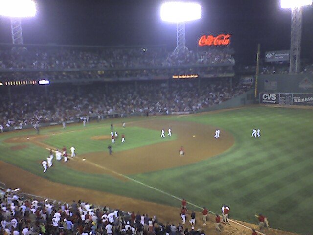 A fantastic night at Fenway...