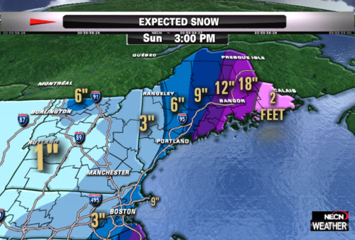Mattnoyes new england weather analysis team coverage on northern new england snowfall forecast map publicscrutiny Gallery